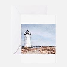 Edgartown Lighthouse Greeting Cards