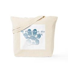TW Coonhound Grandchildren Tote Bag