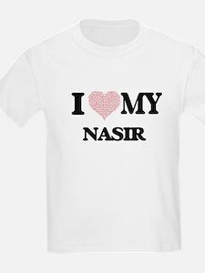 I Love my Nasir (Heart Made from Love my w T-Shirt