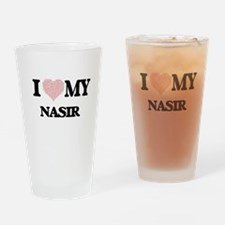 I Love my Nasir (Heart Made from Lo Drinking Glass
