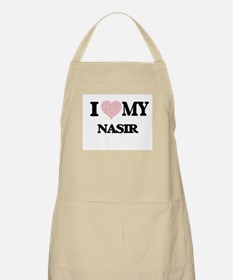 I Love my Nasir (Heart Made from Love my wor Apron