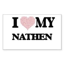 I Love my Nathen (Heart Made from Love my Decal