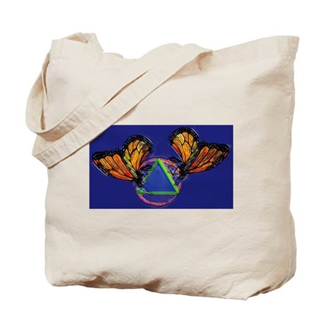 Recovery Butterfly Tote Bag