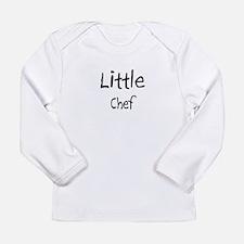 Cute Bon chef Long Sleeve Infant T-Shirt