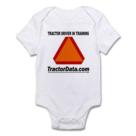 Tractor Driver Infant Bodysuit