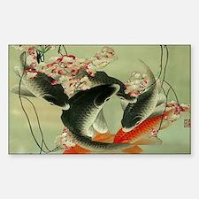 zen japanese koi fish Decal