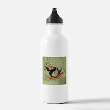 zen japanese koi fish Water Bottle