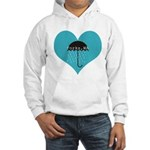Rainy Forks, WA Hooded Sweatshirt