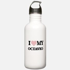 I Love my Octavio (Hea Sports Water Bottle
