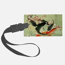 zen japanese koi fish Luggage Tag