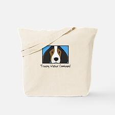Anime Treeing Walker Coonhound Tote Bag