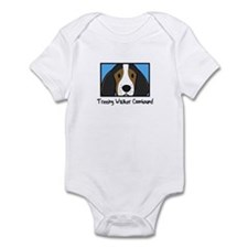 Anime Treeing Walker Coonhound Baby Bodysuit