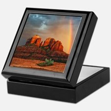 Rainbow In Grand Canyon Keepsake Box