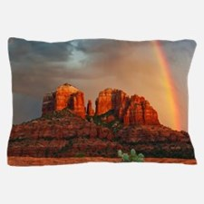 Rainbow In Grand Canyon Pillow Case
