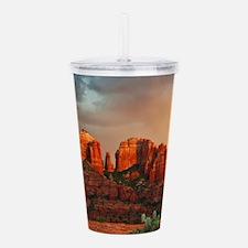Rainbow In Grand Canyon Acrylic Double-wall Tumble