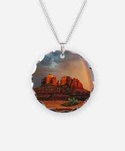 Rainbow In Grand Canyon Necklace