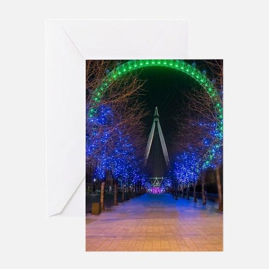 London Eye Greeting Cards