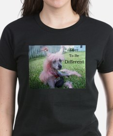 Chinese Crested Different Tee