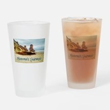 Lucy Vincent Beach Drinking Glass