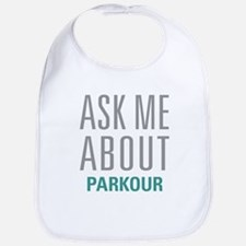 Ask Me About Parkour Bib