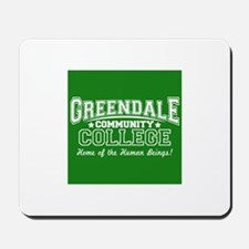Greendale Community College Mousepad
