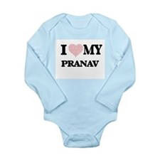 I Love my Pranav (Heart Made from Love m Body Suit