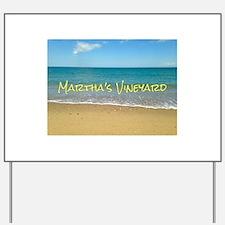 Chappaquiddick Beach Yard Sign