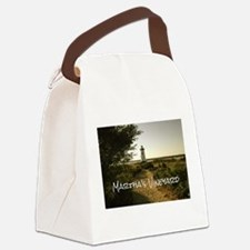 Lighthouse Path Canvas Lunch Bag