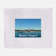Edgartown Harbor Throw Blanket