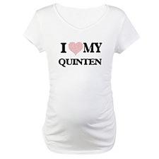 I Love my Quinten (Heart Made fr Shirt