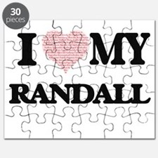 I Love my Randall (Heart Made from Love my Puzzle