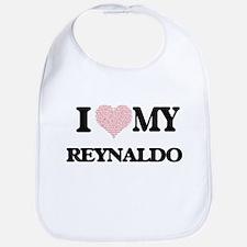 I Love my Reynaldo (Heart Made from Love my wo Bib