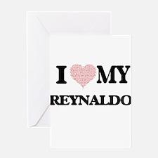 I Love my Reynaldo (Heart Made from Greeting Cards