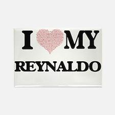 I Love my Reynaldo (Heart Made from Love m Magnets