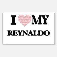 I Love my Reynaldo (Heart Made from Love m Decal