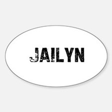 Jailyn Oval Decal