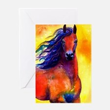 Cute Friesian Greeting Card
