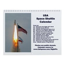 Space Shuttle Wall Calendar