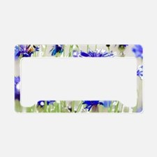 So Many Flowers, So Little Ti License Plate Holder