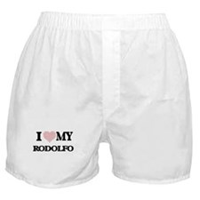 I Love my Rodolfo (Heart Made from Lo Boxer Shorts