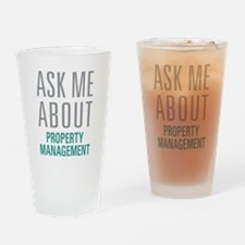 Property Management Drinking Glass