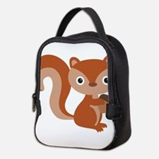 Cute squirl forest animal Neoprene Lunch Bag