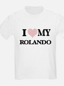 I Love my Rolando (Heart Made from Love my T-Shirt