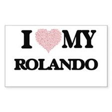 I Love my Rolando (Heart Made from Love my Decal