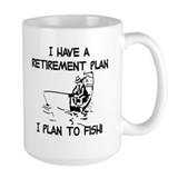 Fishing Large Mugs (15 oz)