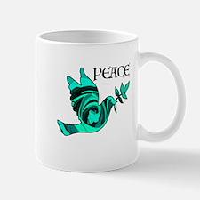 Peace Dove-GRN Mugs