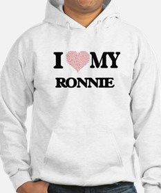 I Love my Ronnie (Heart Made fro Hoodie
