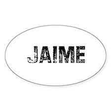 Jaime Oval Decal