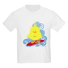 Surfer Chick Kids T-Shirt