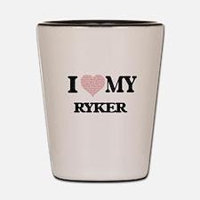 I Love my Ryker (Heart Made from Love m Shot Glass